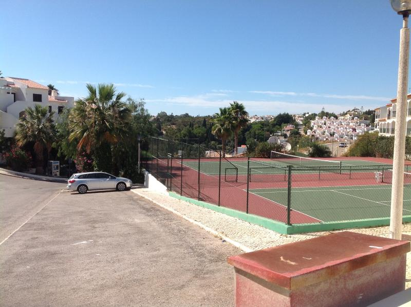 Tennis Courts for those more energetic days.