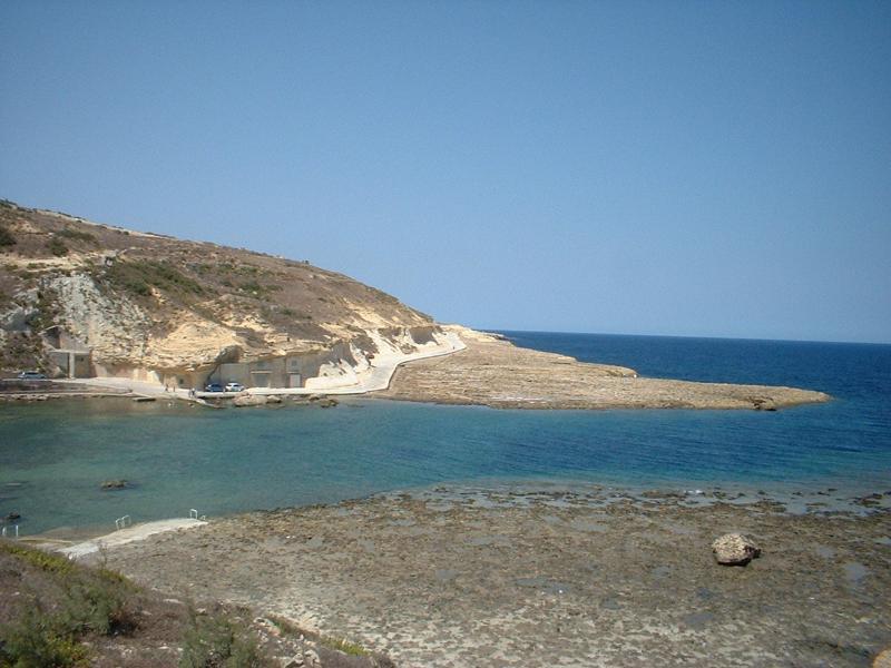 Xwejni beach Xwejni Bay