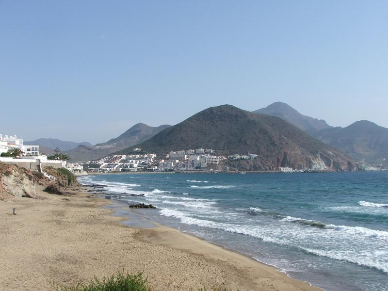 View from la calilla beach
