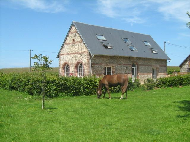 La grange d'Armand Ecogite, holiday rental in Houquetot
