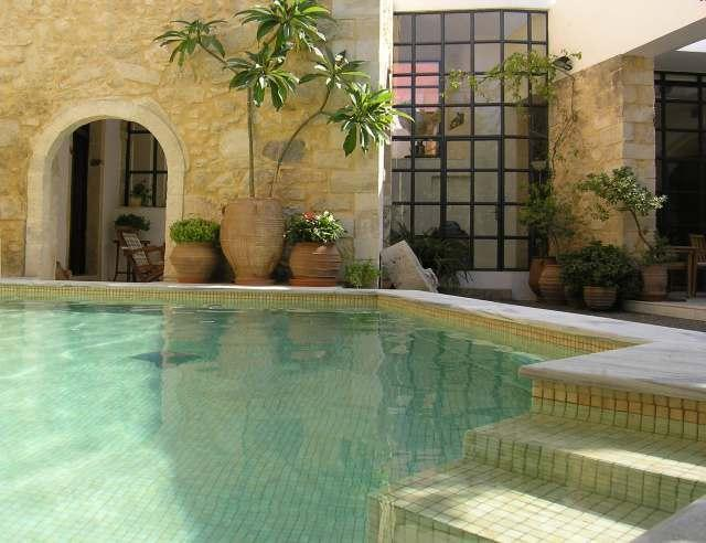 Full of privacy heated swimming pool