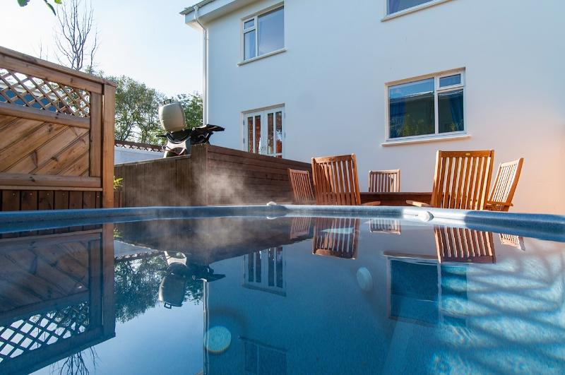 Your private jacuzzi - relax and enjoy your holiday!