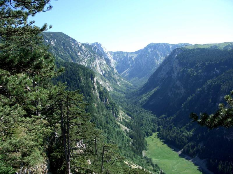 Beautiful Durmitor national park scenery