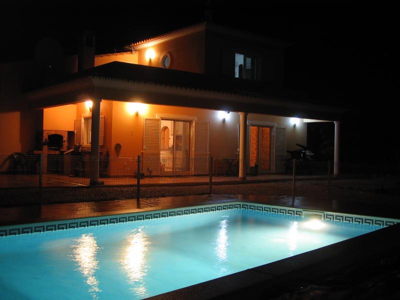 Casa Mack Pool by Night