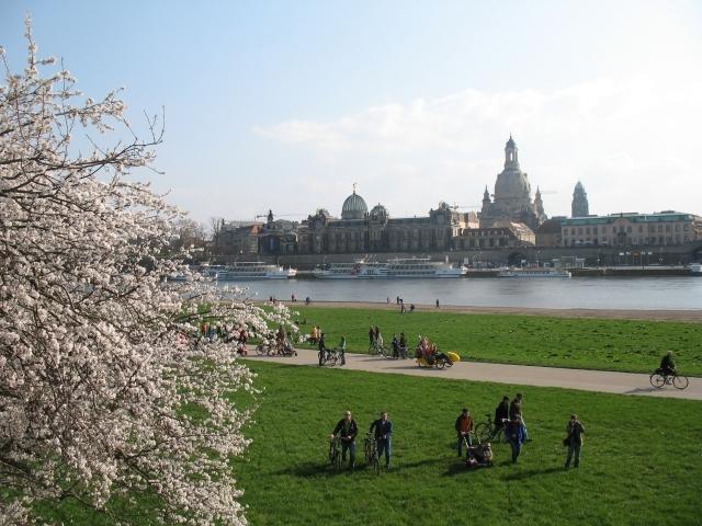 Dresden im Frühjahr