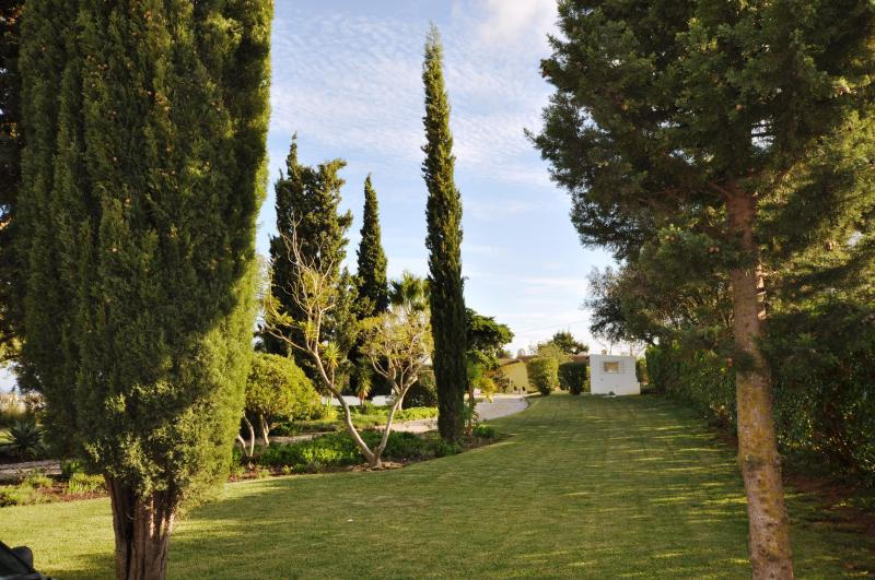 Take a stroll in this tranquil, beautiful and mature Beachcomber garden on 2 acres gated ground.