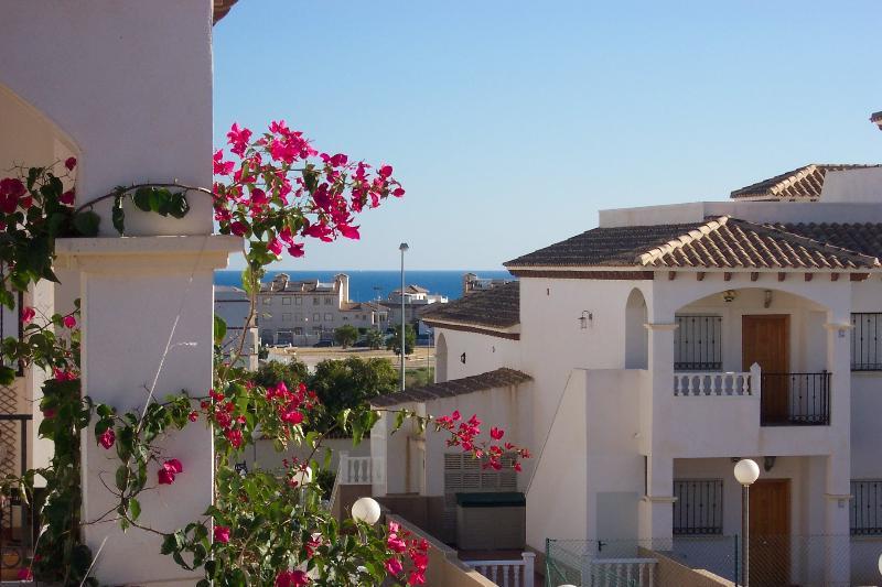Balcony  -  South Facing  -  Breakfast with Sea Views