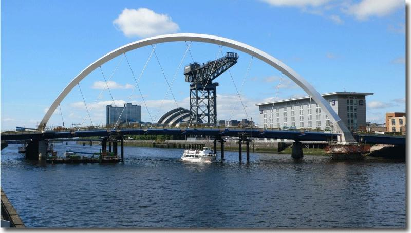 River Clyde and SECC