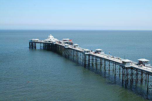 Beautiful Llandudno Pier.