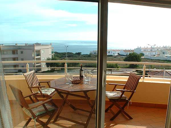Veranda off the lounge  faces south-south west and has wonderful sea views!