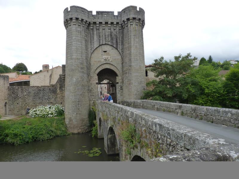 Medieval gateway to Parthenay
