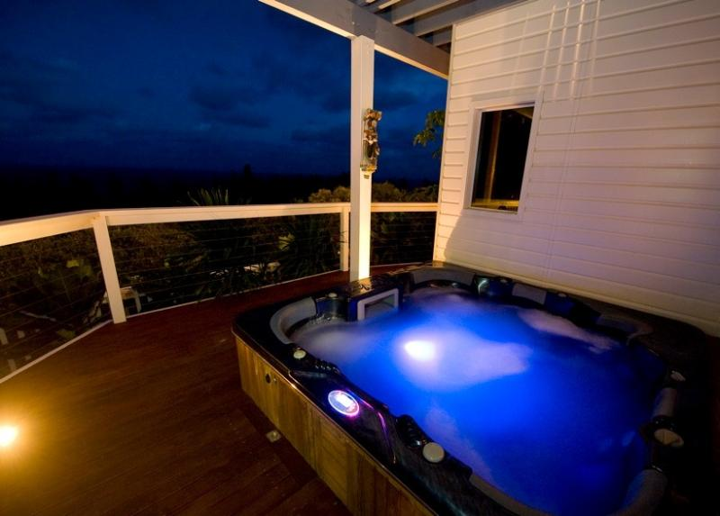 Jacuzzi/Spa with Spectacular Views! Also Steam Sauna and Finnish Dry Sauna.