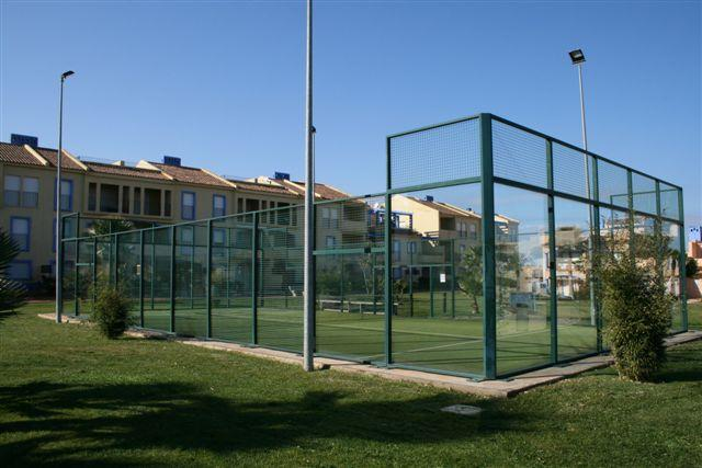 Padel Courts in the Grounds