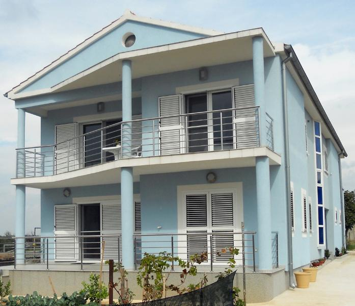 Our guest house with 3 apartments.