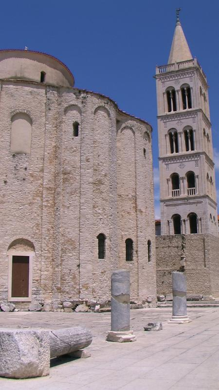 Zadar historique est à 20 minutes de l'hôtel.
