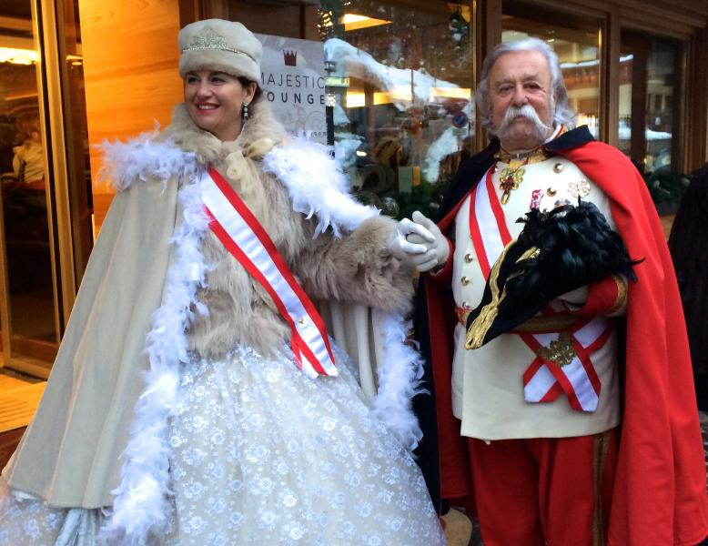 Carnival with Franz and Sissi