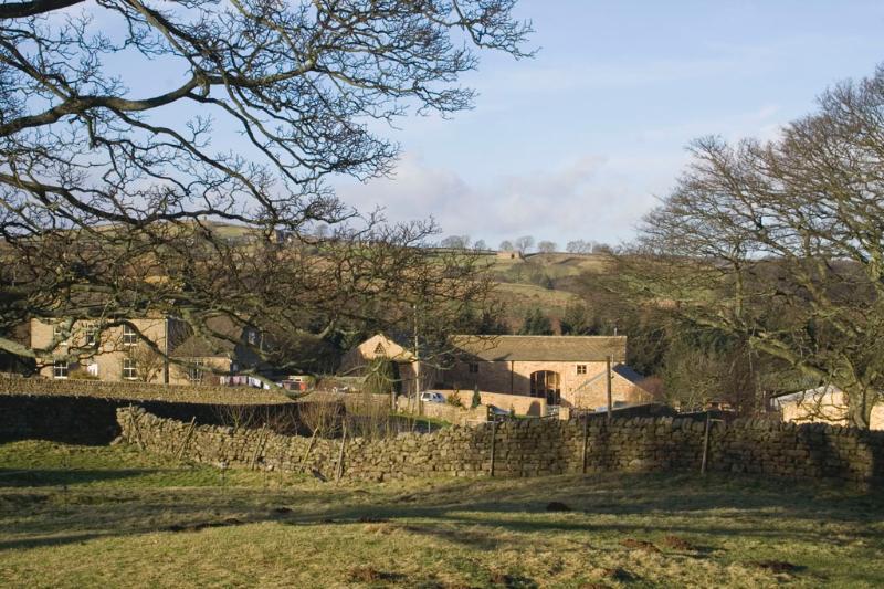 Dallow Hall Barns in beautiful surroundings.