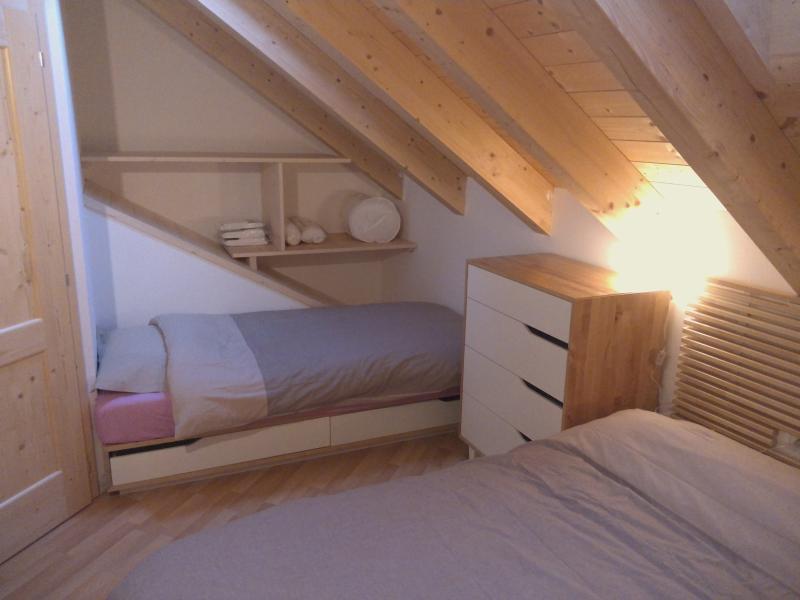 camera mansardata 3 posti letto per osservare le stelle delle notti dolomitiche
