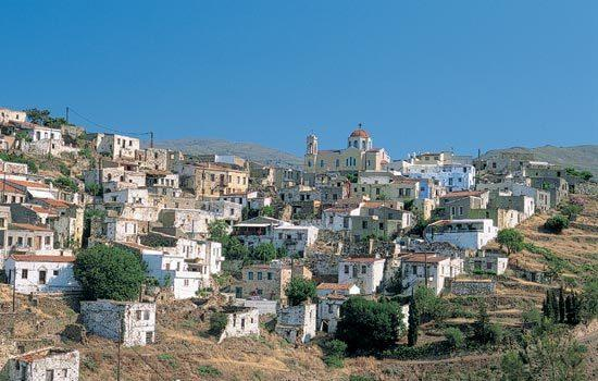 Village in The Northern part of Chios