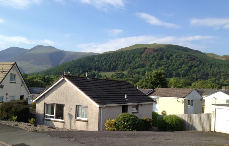 Ferndale hat einen tollen Blick von Skiddaw, Latrigg und Blencathra