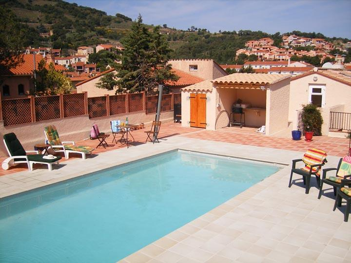 4 bed Collioure Villa, location de vacances à Collioure
