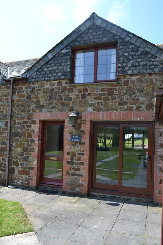 Pebble Cottage - welcoming, well equipped and comfortable in a lovely location.