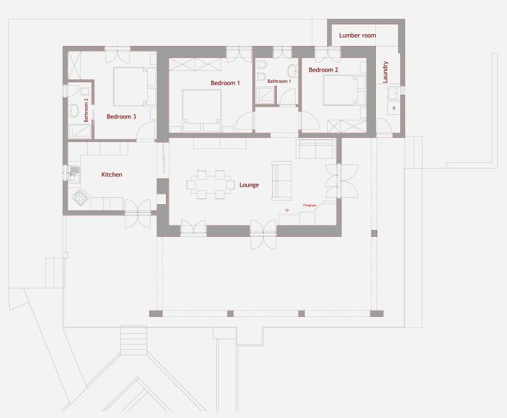 Plan of Villa