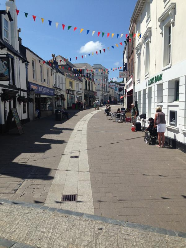 The lovely local town of Wadebridge.