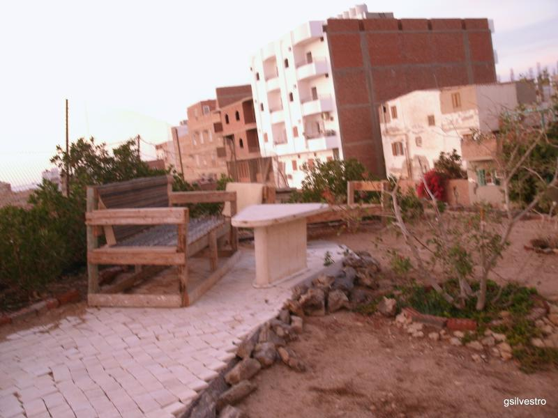 Outdoor terrace is suitable also for grilling