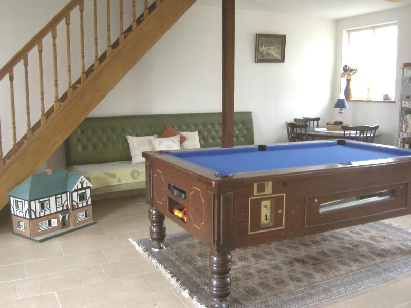 Large, airy accommodation, 7ft pool table