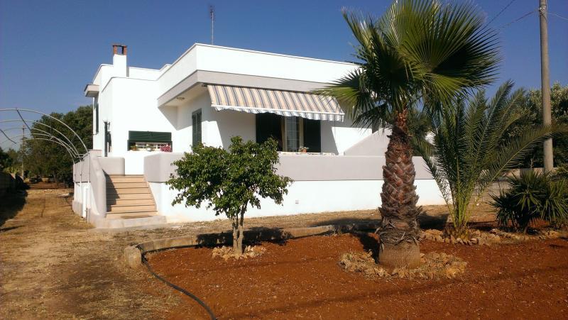 Villa Teresa Torre Suda Gallipoli 4/5/6/7/8 posti, holiday rental in Racale