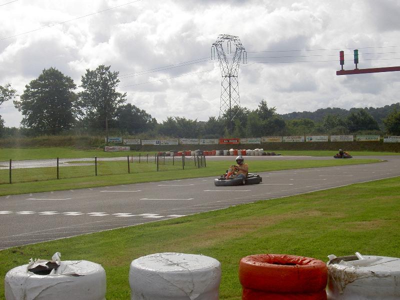 Karting at Mortain