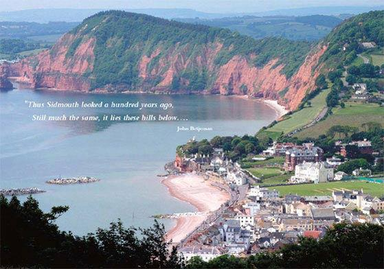 View of Sidmouth