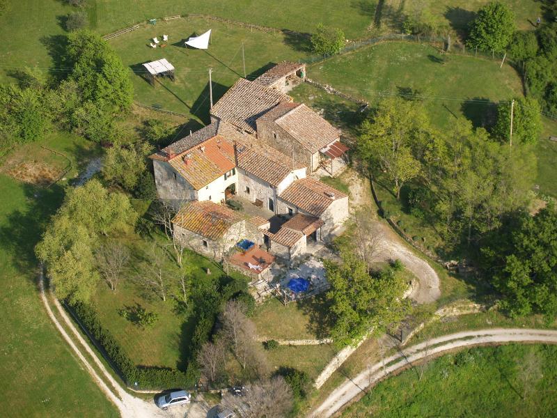 Agriturismo Podere il Palagio, sulle colline di Fiesole.