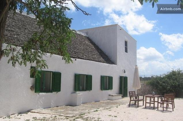 Masseria in Valle d'Itria - the old stone building