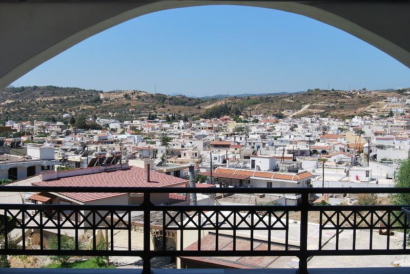 Afandou village view