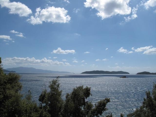 View from Villa Kandili Veranda