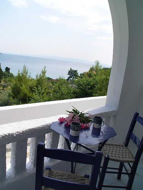 view from one of the verandas