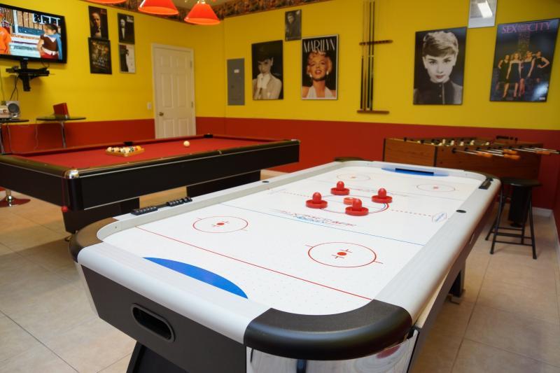 Disfrute de esta sala de juegos de lujo solo para ti!