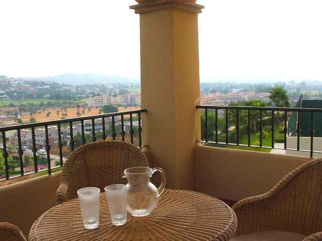Rustige drankje op het terras