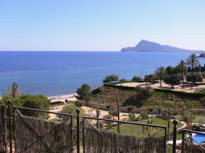 Uitzicht vanaf Villa Gadea naar Altea