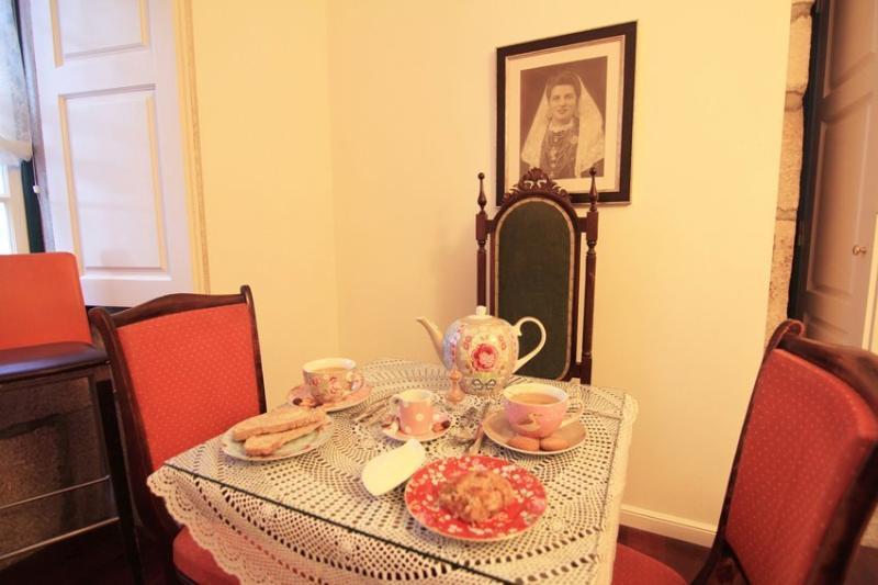Sala pequenos almoços e petiscos