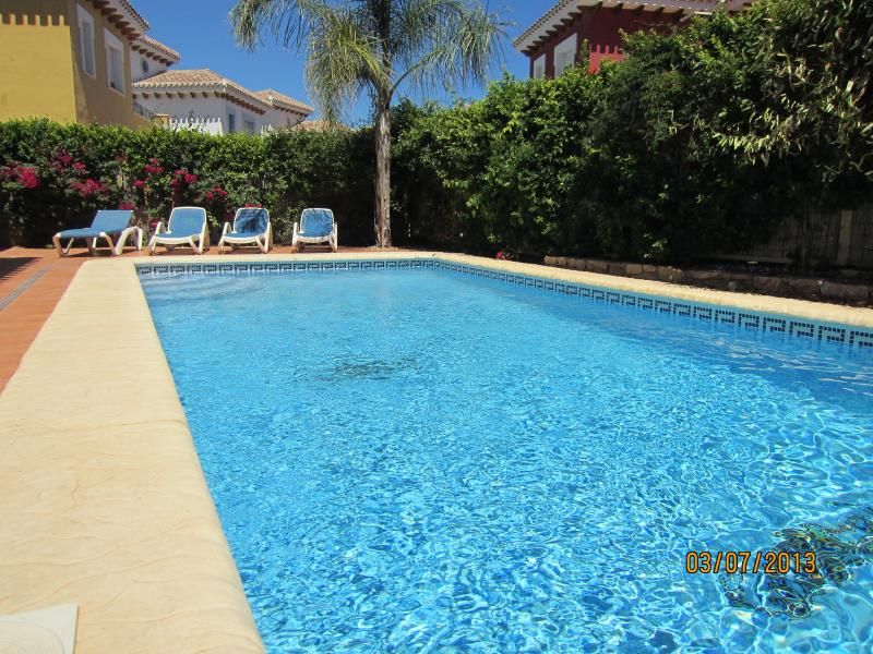 private - heated swimming pool