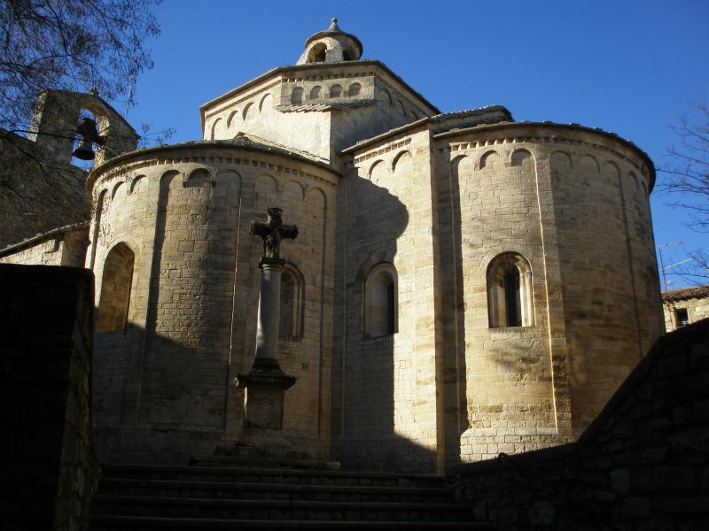 St Martin De Londres Romanesque Church