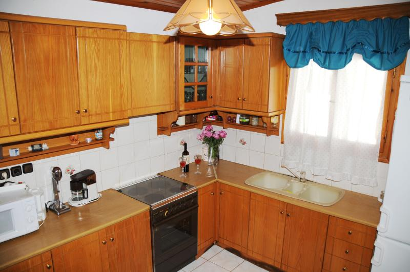 Our modern, fully-equipped kitchen makes self-catering easy and  enjoyable