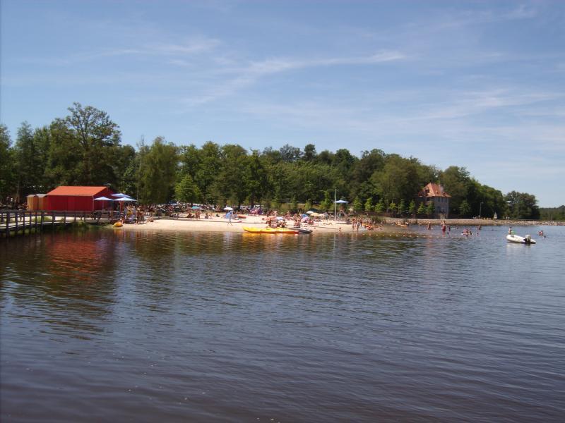 Lakeside beach at Saint Estephe