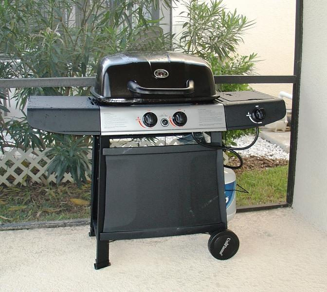 BBQ grill included, why pay $55/week to someone else?
