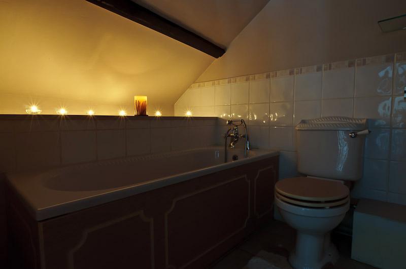Salle de bains de Guinevere.