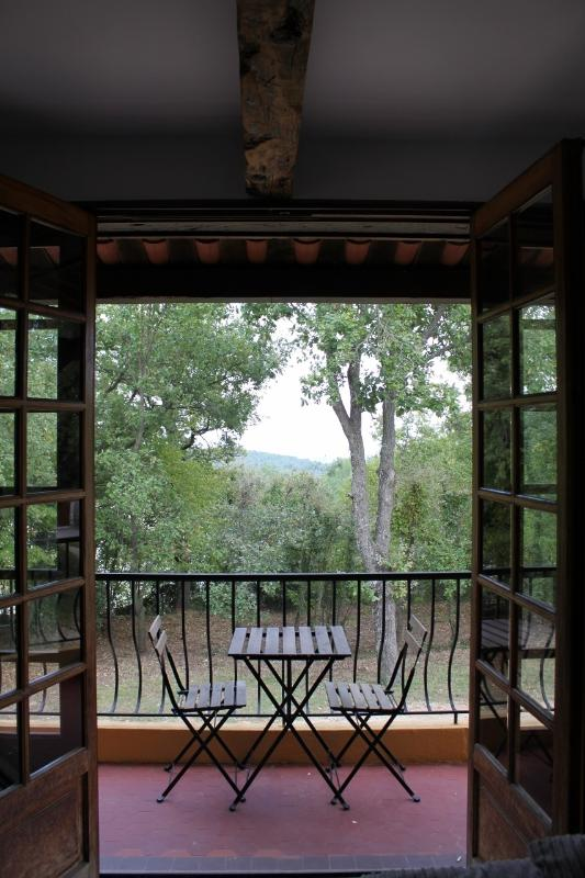 balcony from living area