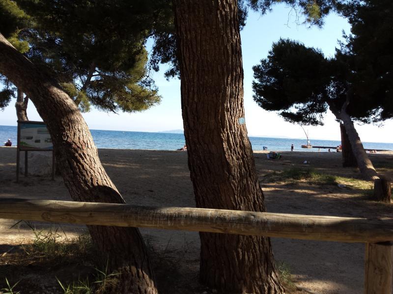 Ombre et soleil à Argentiere plage tout simplement parfaite